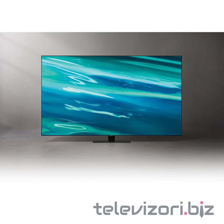 """SAMSUNG televizor QE65Q80AATXXH, 65"""" (165 cm) QLED, 4K Ultra HD, Smart, Sivi"""