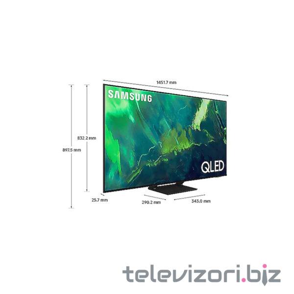"""SAMSUNG televizor QE65Q70AA, 65"""" (165 cm) QLED, 4K Ultra HD, Smart, Crni"""
