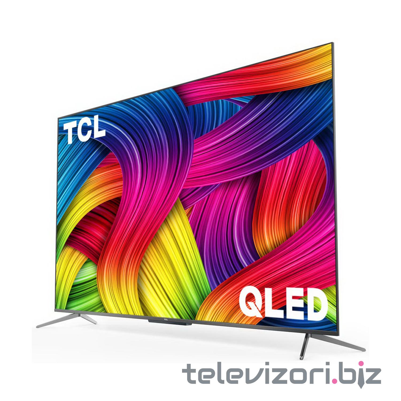 "TCL televizor 55C715, 55"" (139 cm) QLED, 4K Ultra HD, Android 9.0, Crni"