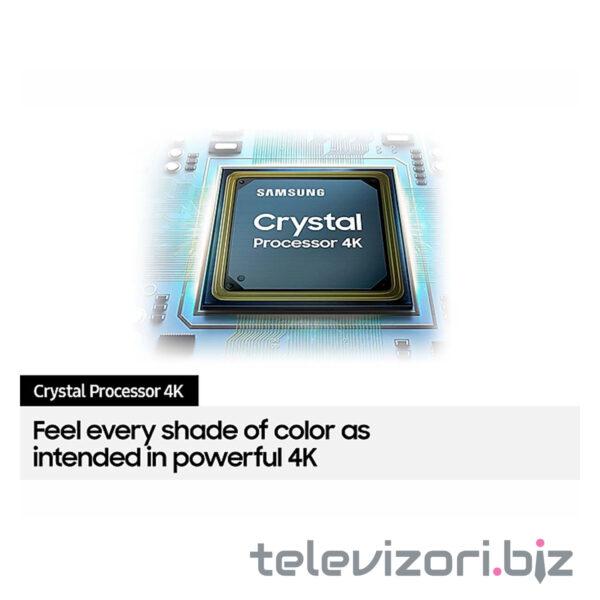 "SAMSUNG televizor 75AU8072, 75"" (191 cm) LED, 4K Ultra HD, Smart, Crni"