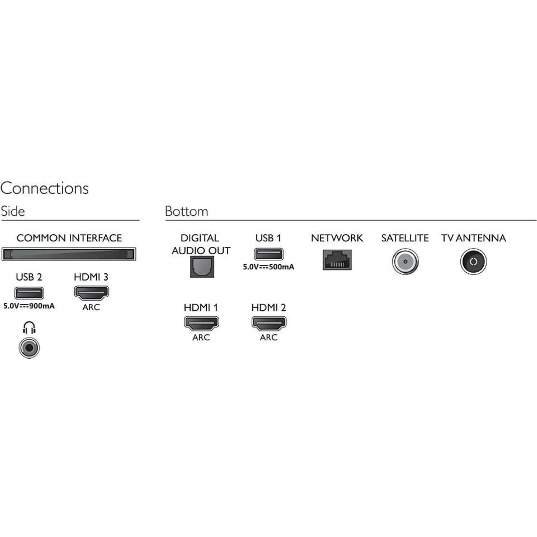 """PHILIPS televizor 43PUS7555, E-LED 43"""" (109cm), 4K Ultra HD, Smart, Srebreni"""